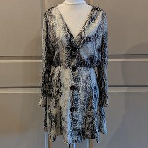 Snake print dress - CA004